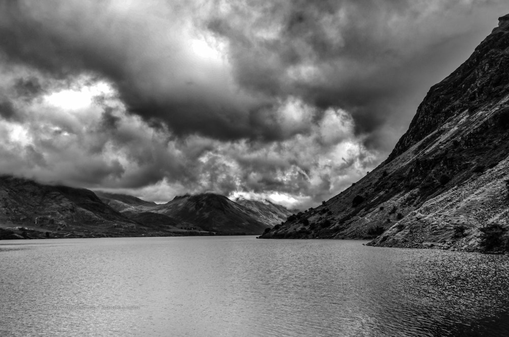 Photograph Through Mountains And Clouds by Agnès  on 500px
