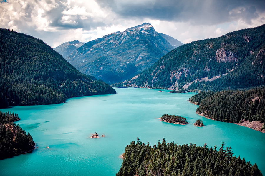 Diablo Lake by Kyle Ford on 500px.com