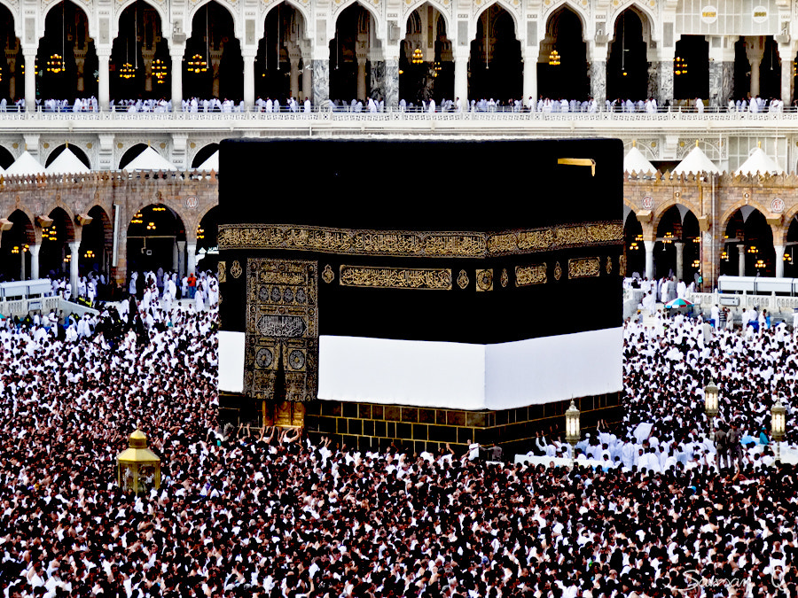 Photograph The Kaaba .. by Sawsan Mohammed on 500px