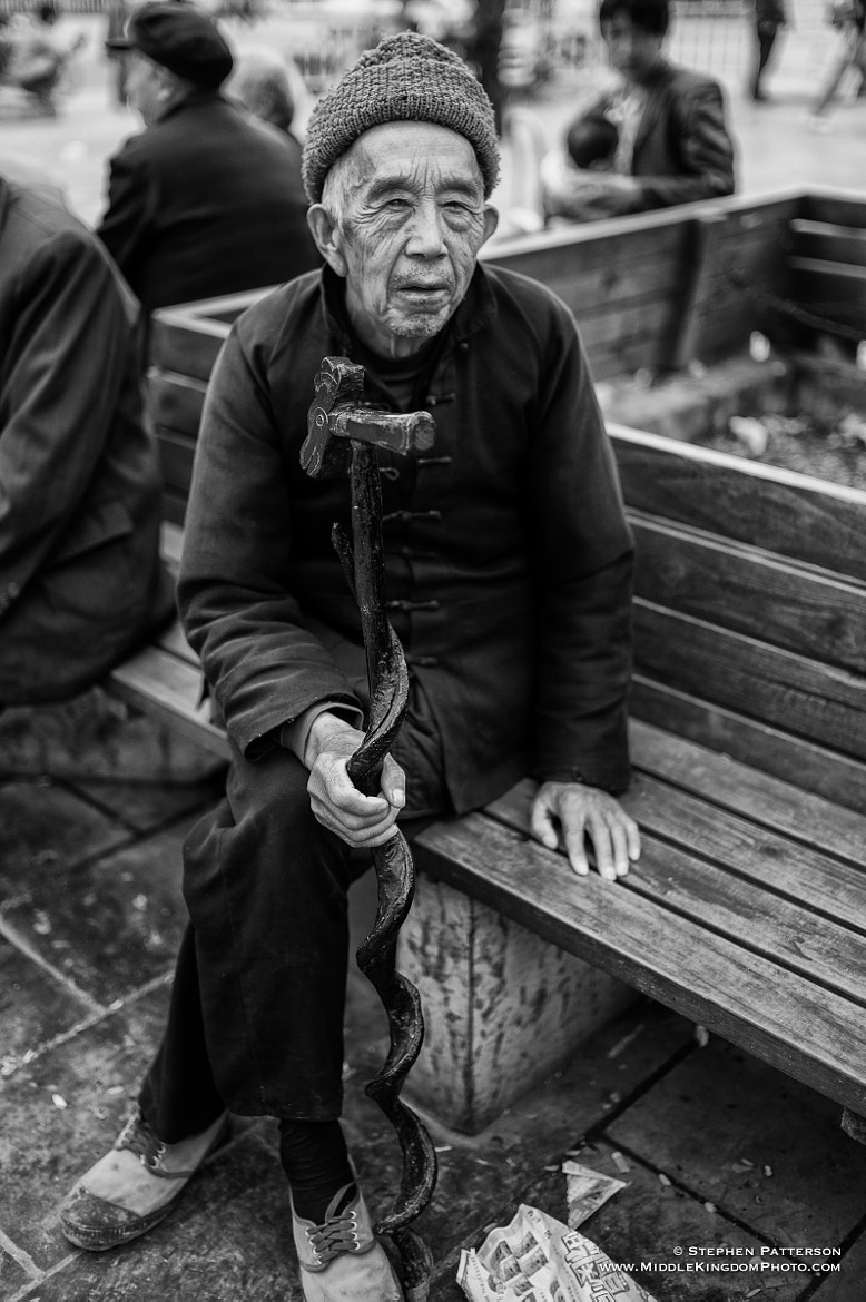 Photograph Gentleman with Cane by Stephen Patterson on 500px