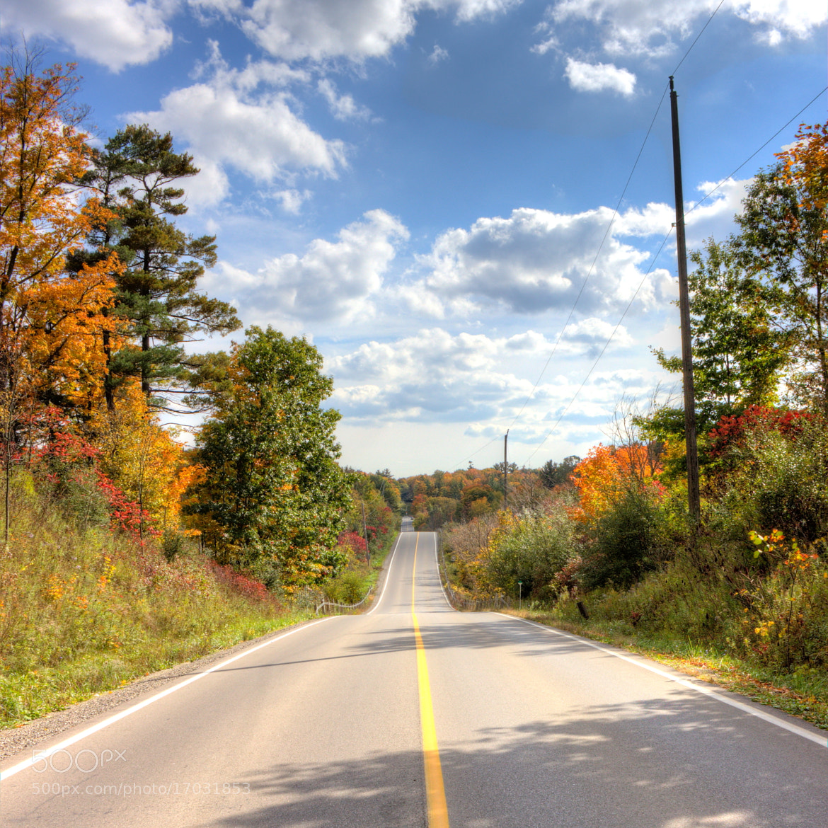 Photograph Autumn road to nowhere by John Velocci on 500px