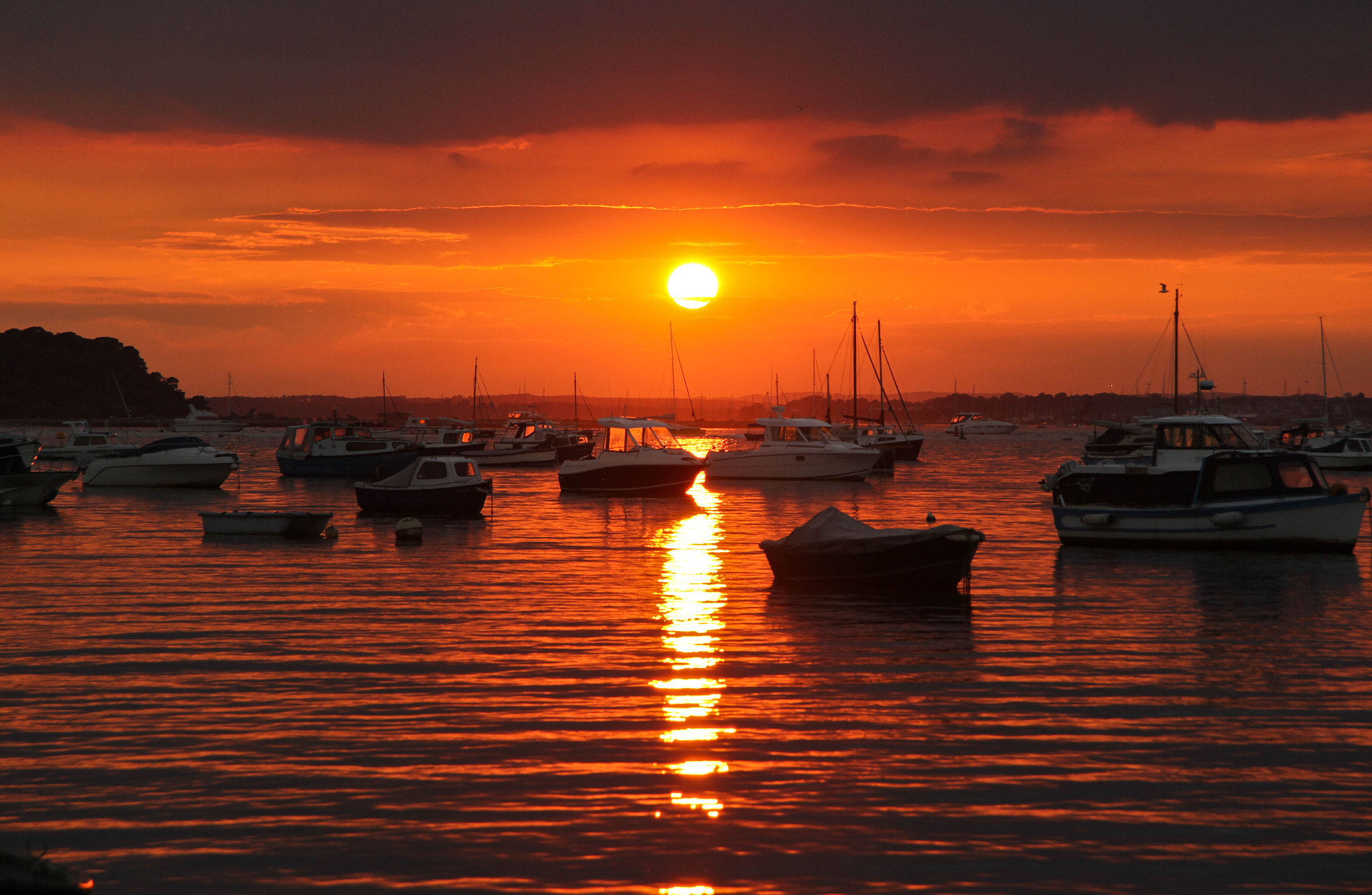 Photograph Amber Sunset by Lewis Blackburn on 500px