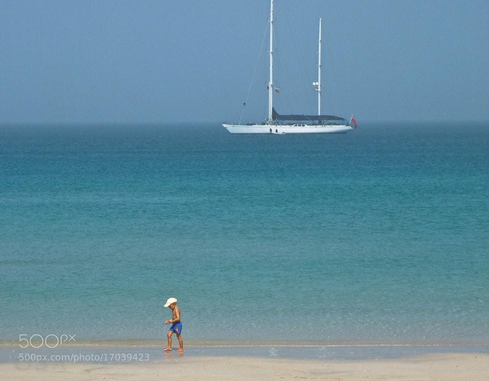 Photograph beach boy by S A  I on 500px
