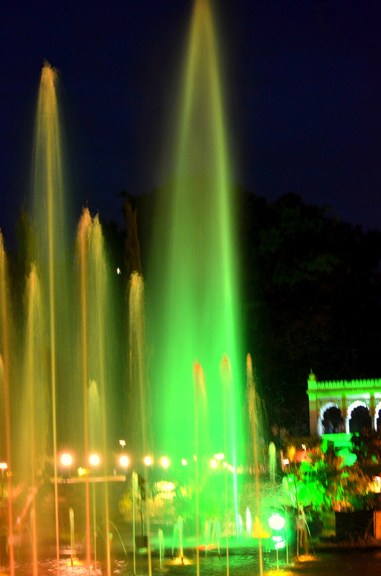 Photograph Musical Fountain by Kanthi Kiran on 500px