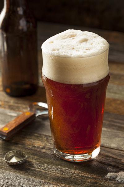 Refreshing Brown Ale Beer by Brent Hofacker on 500px.com