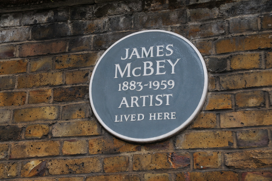 James McBey in London by Sandra on 500px.com