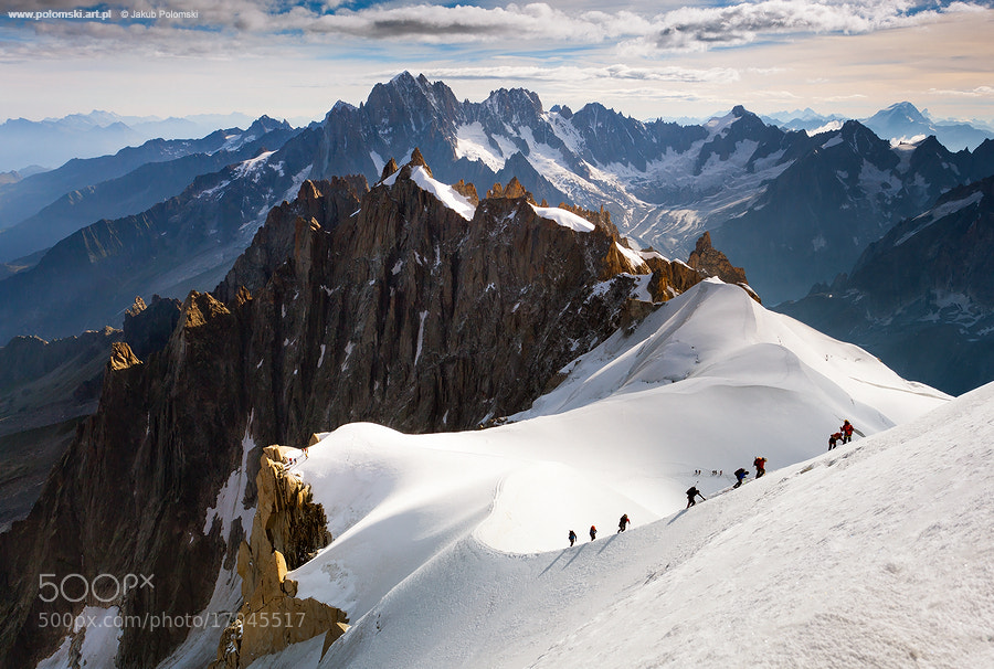 Photograph The Alpinists by Jakub Polomski on 500px