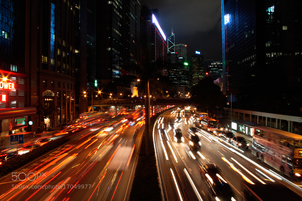 Photograph Hong Kong at night by Soňa Kovalčíková on 500px