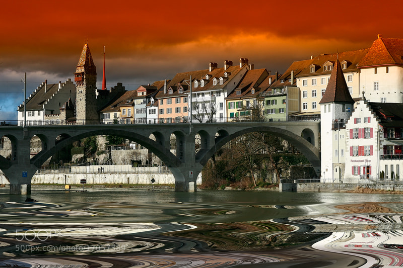 Photograph The Nydegg Bridge in Switzerland-Bern by hilal cengiz on 500px
