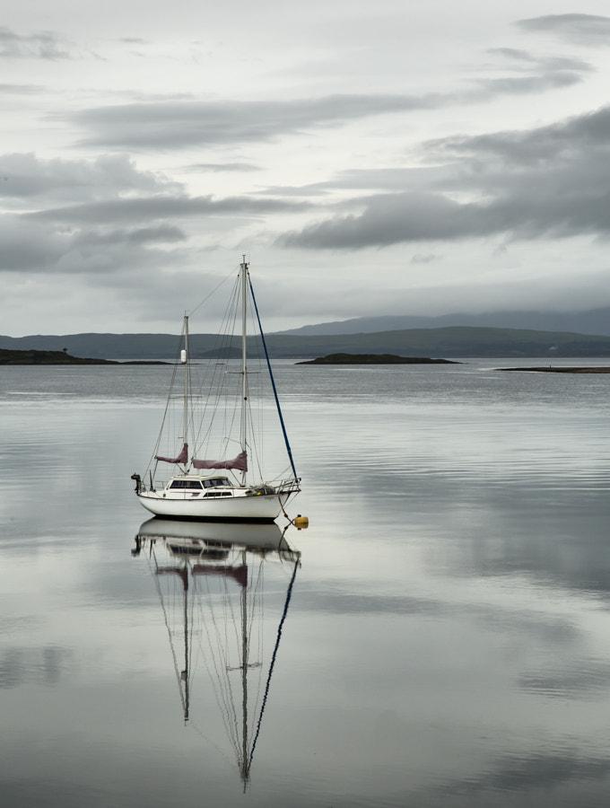 Yacht reflection