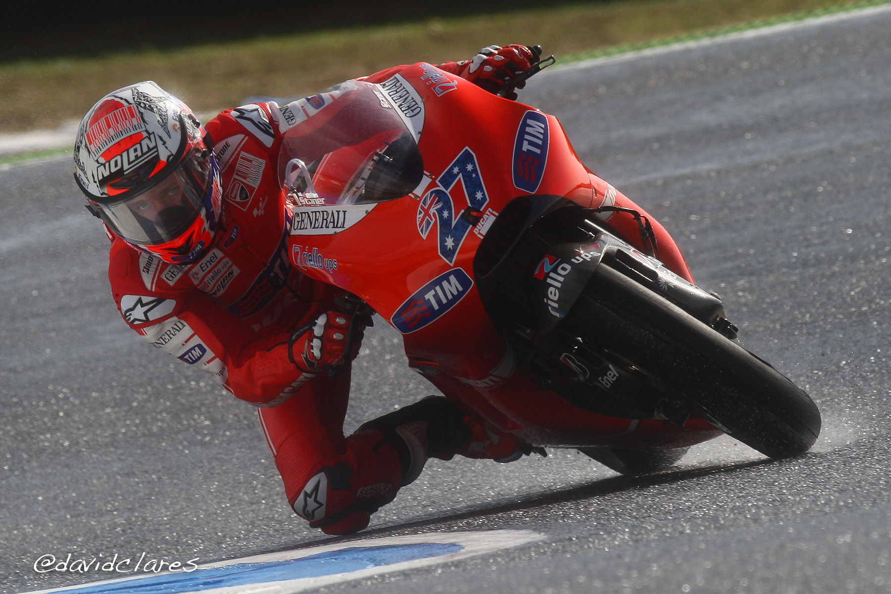 Photograph Casey Stoner REF. 0145 by David Clares on 500px