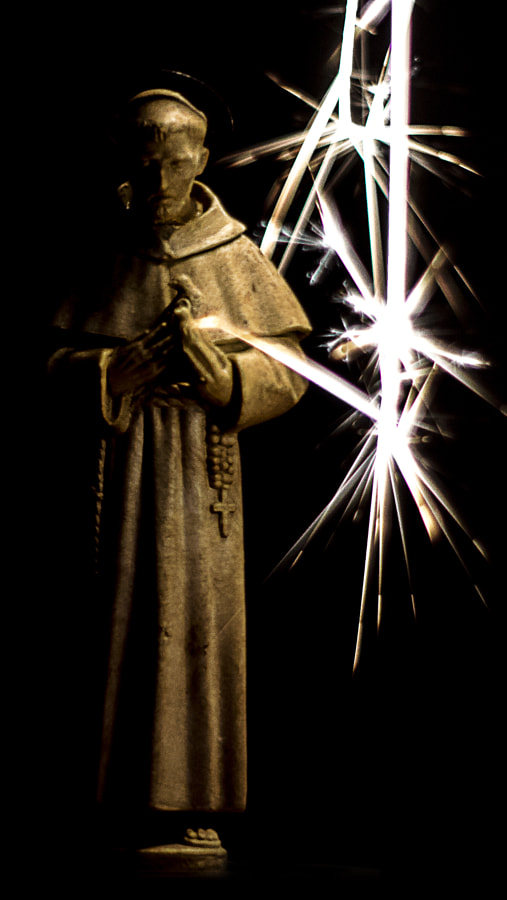 St Francis and Brother Fire by Jeff Carter on 500px.com