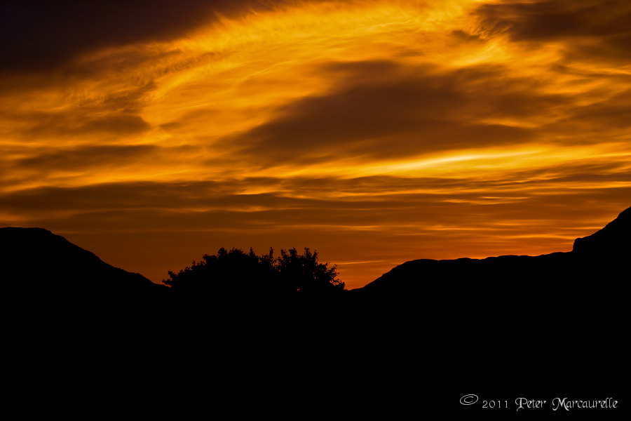 Photograph Fire in the Sky by Peter Marcaurelle on 500px