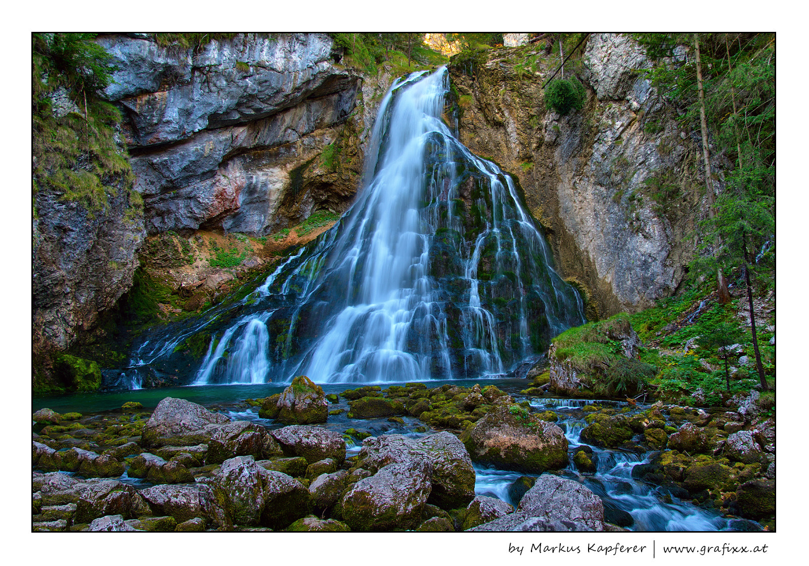 Photograph Waterfall by Markus Kapferer on 500px