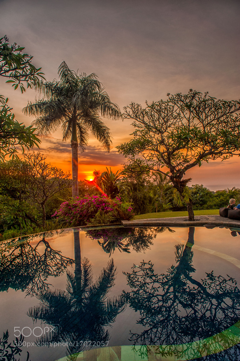 Photograph Reflections in Bali - The Damai by subra govinda on 500px