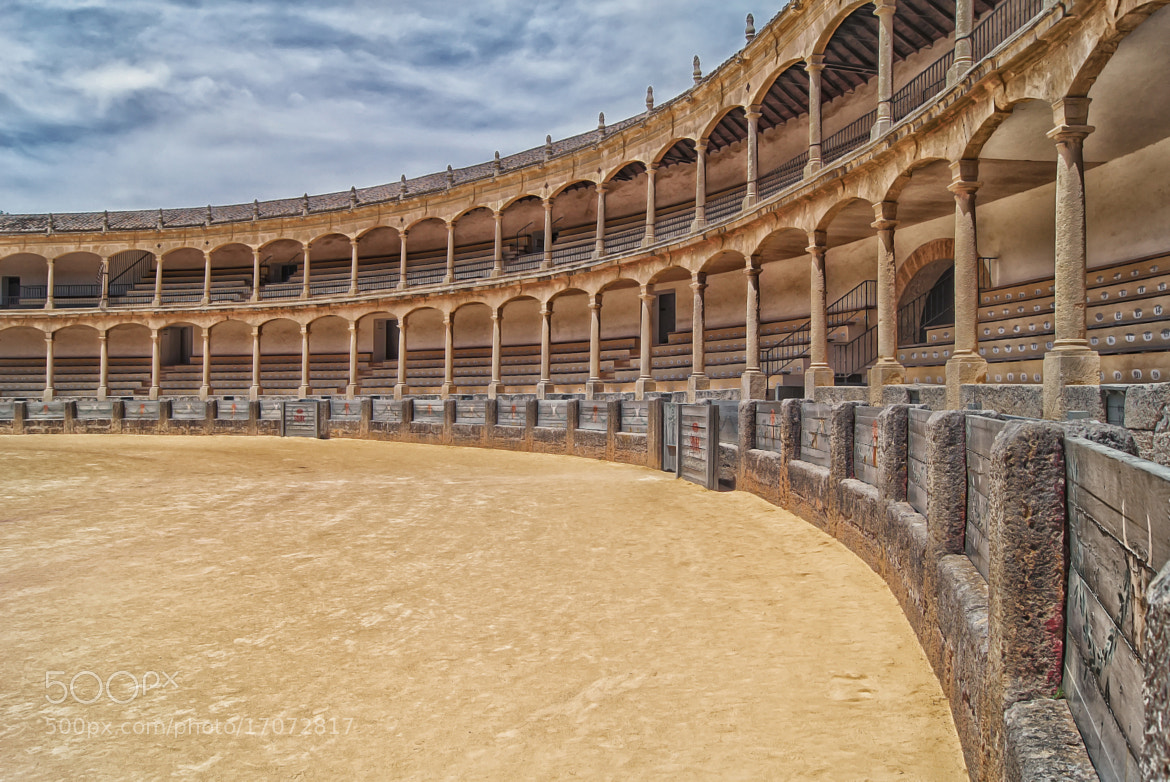 Photograph Ronda Bullring by ---ROB---  PHOTOGRAPHY on 500px