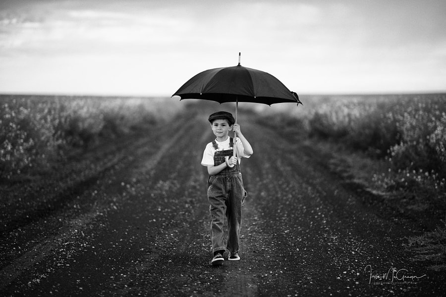 Boy Walking by Ian McGregor on 500px.com