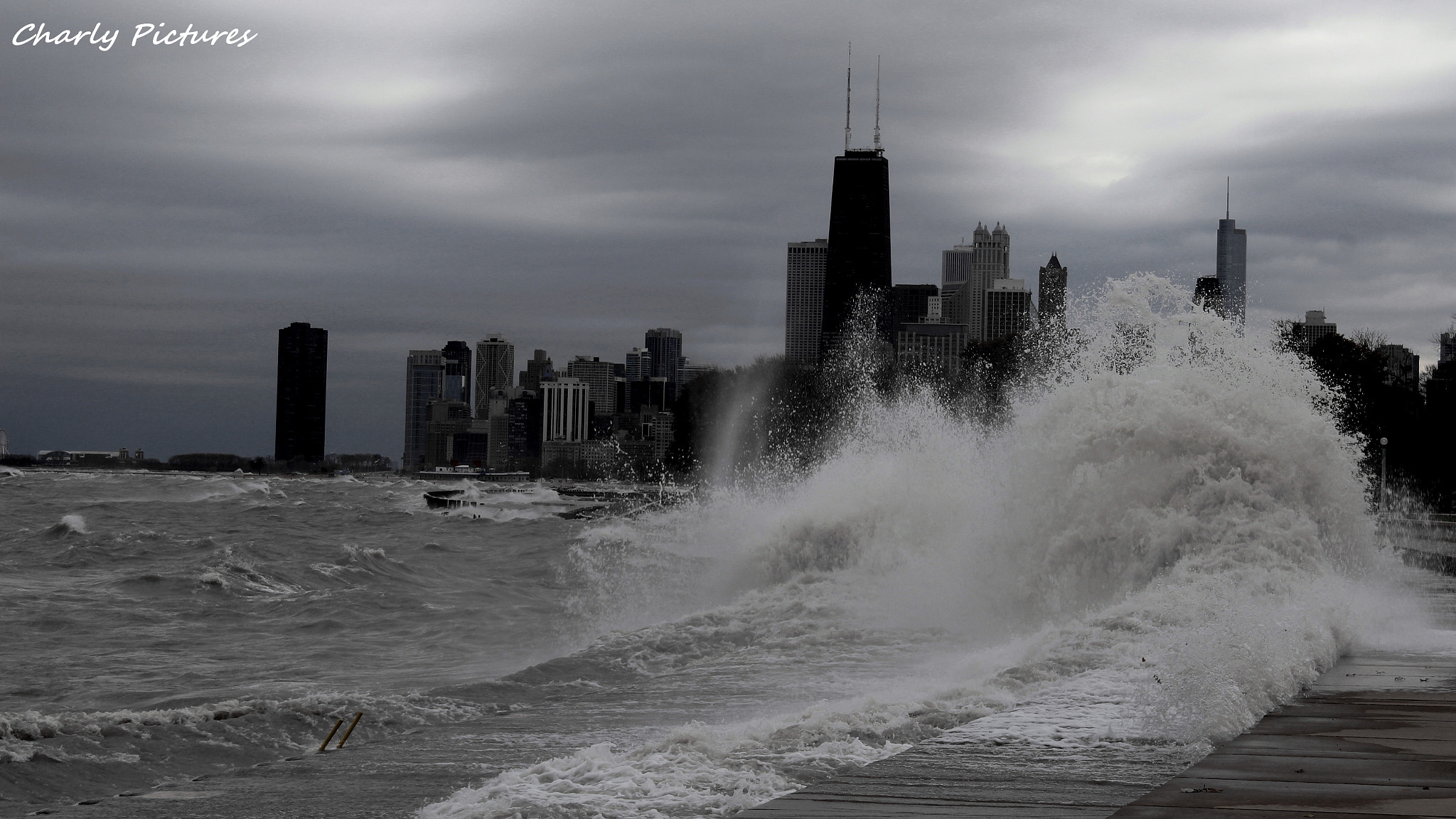 Photograph Windy City Today  by Charly Pictures on 500px