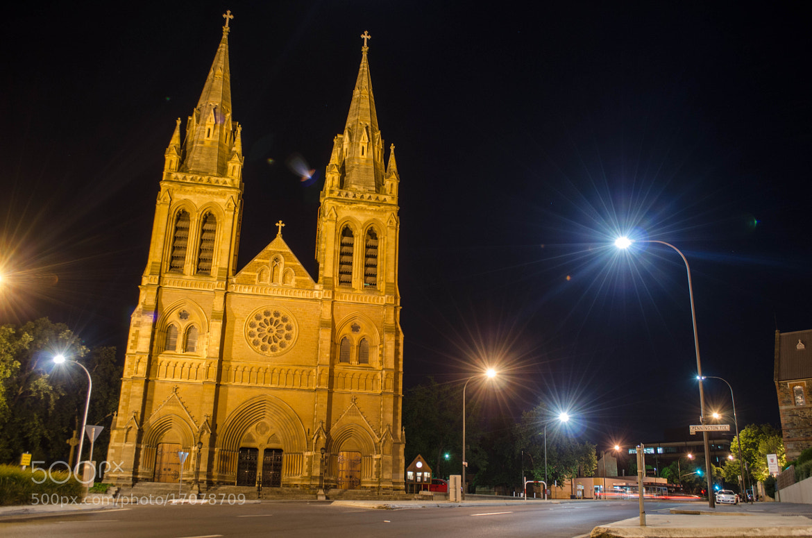 Photograph St Peters Cathedral By Nightfall by Jason  Crowell Photographics on 500px