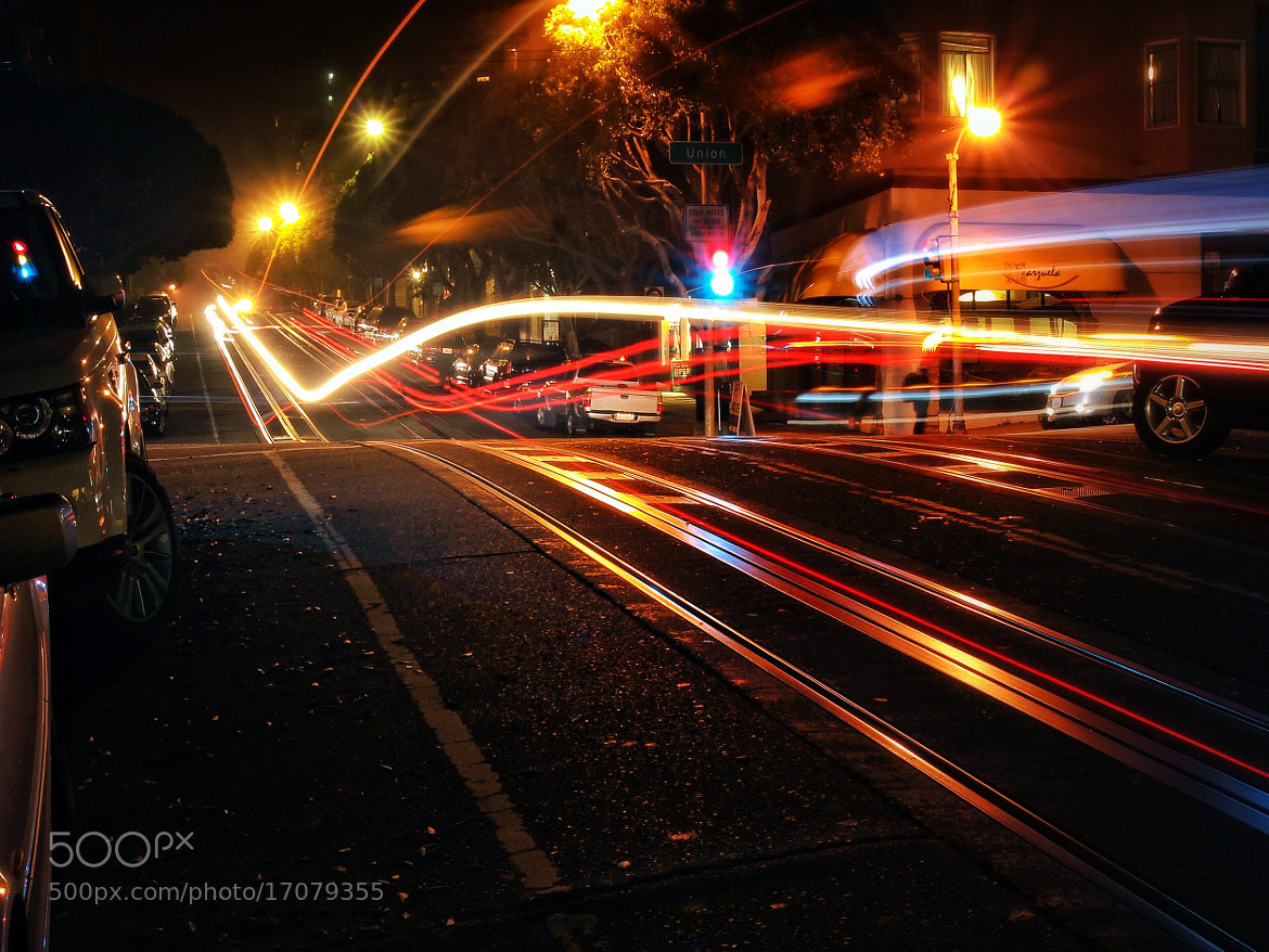 Photograph SF Night on Hyde St. by T. Malachi Dunworth  on 500px