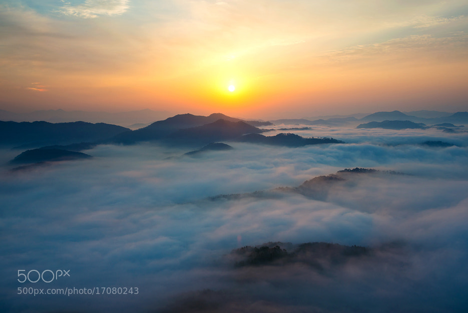 Photograph sea of clouds by Ju sewhan on 500px