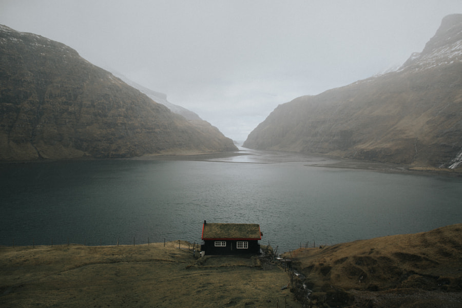 Faroe island cabin by Michiel Pieters on 500px.com