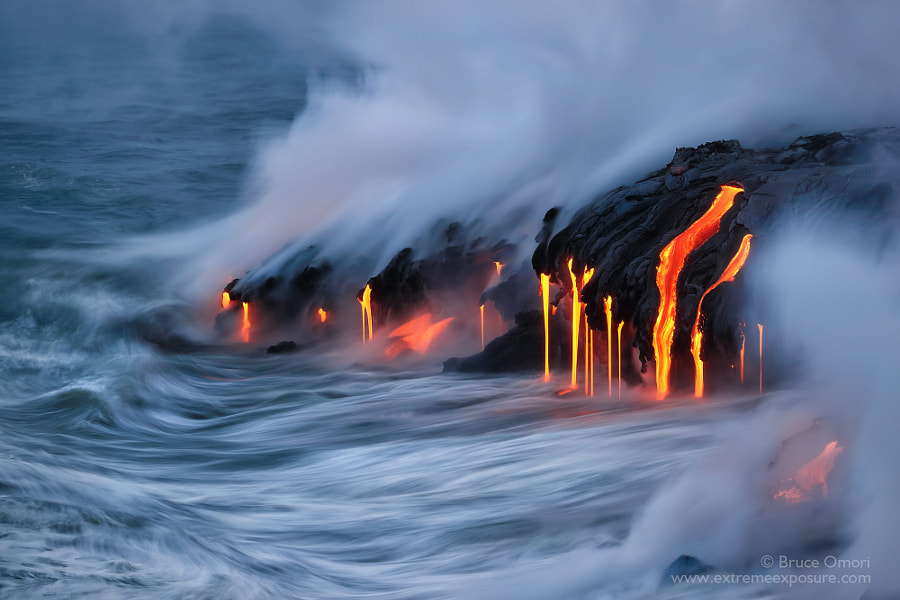 Kamokuna Drips by Bruce Omori on 500px.com