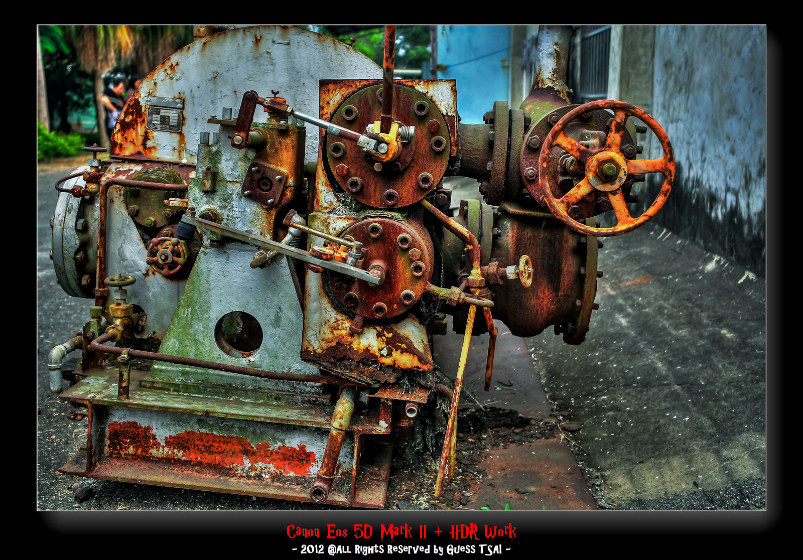 Photograph Old Machine by Guess Tsai on 500px
