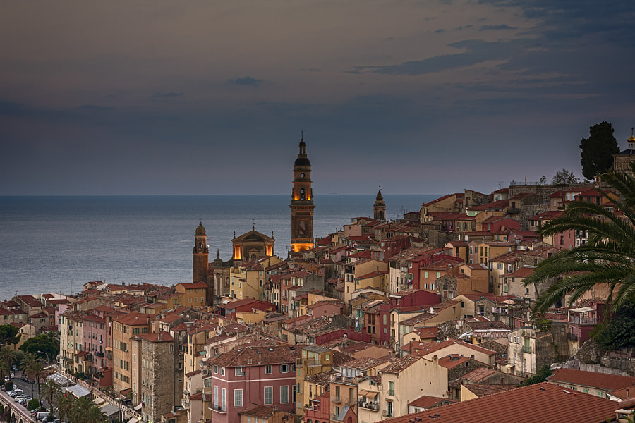 Menton, France by Fernando Juberías on 500px.com