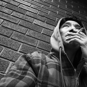 Portrait Of An Addict: Sandy by Sam C (Sam_C)) on 500px.com