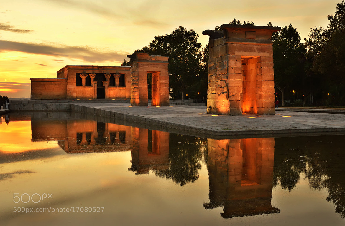 Photograph Temple Debod by Csilla Zelko on 500px