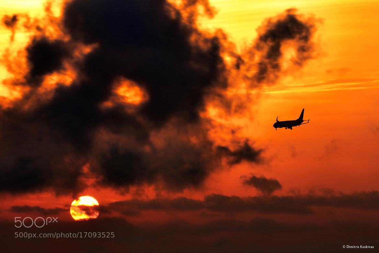 Photograph sunset landing by Dimitris Koskinas on 500px