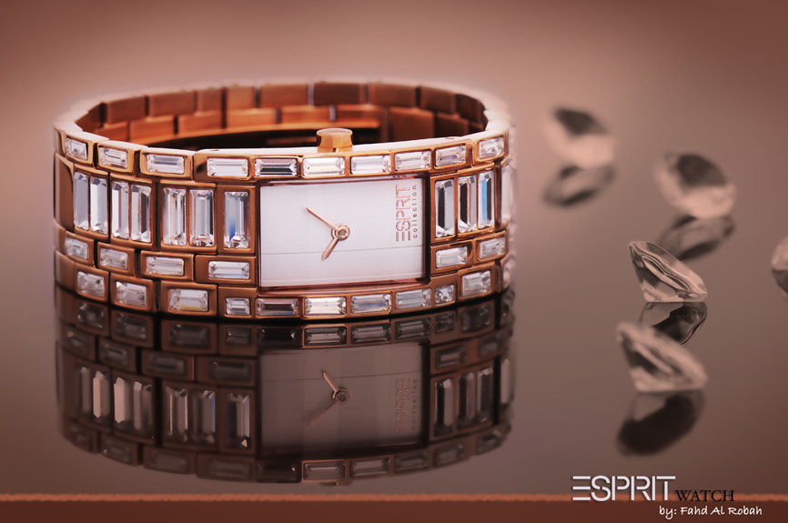 Photograph ESPRIT WOMEN WATCH by Photographyat - Products Photography & Graphic Design on 500px