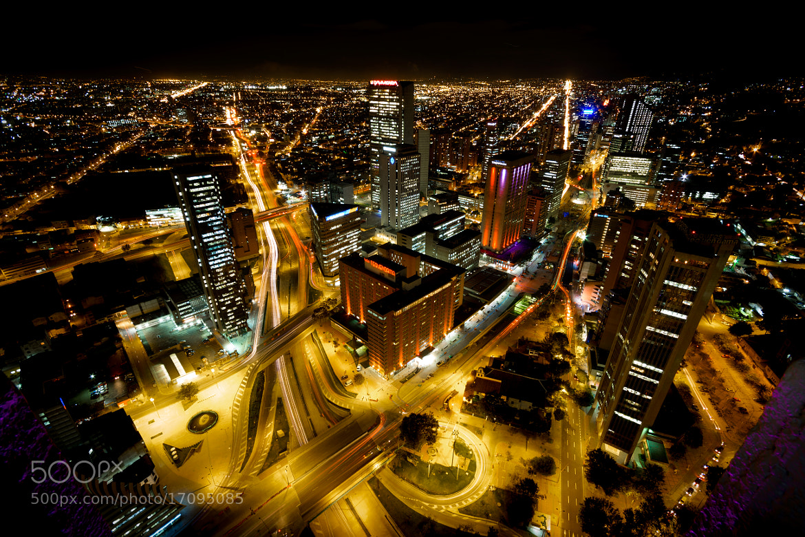 Photograph Bogota, City of Blinding Lights by Alexander Gomez on 500px