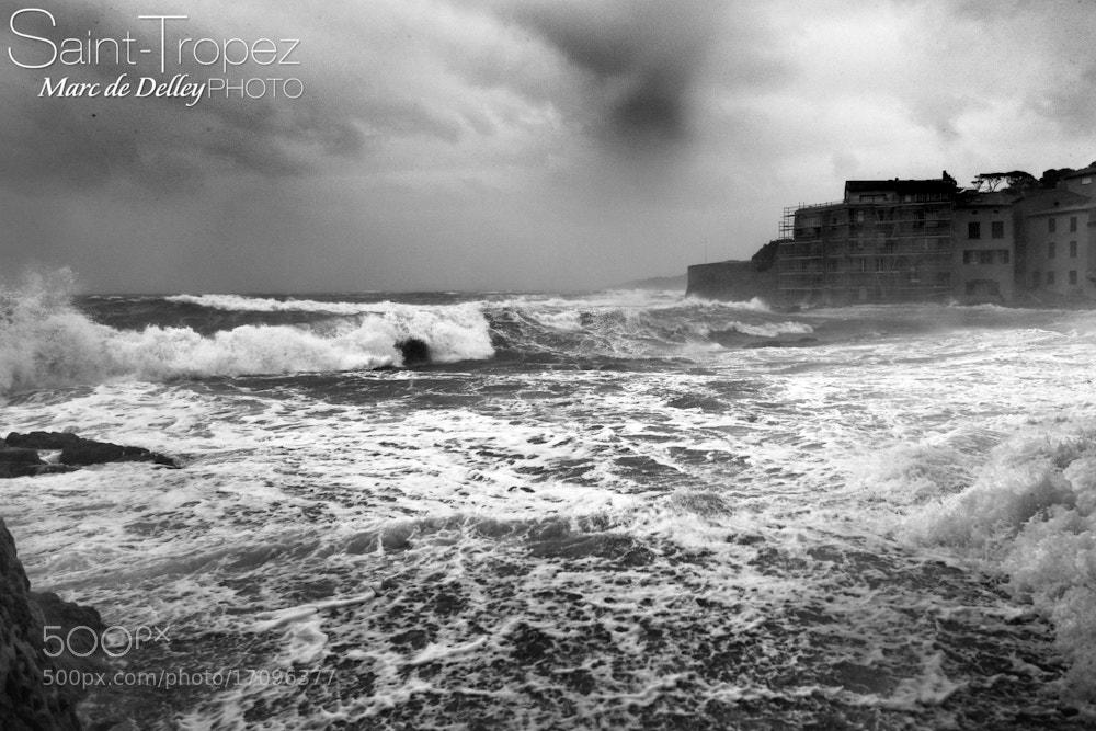 Photograph Storm Saint-Tropez by Marc de Delley on 500px