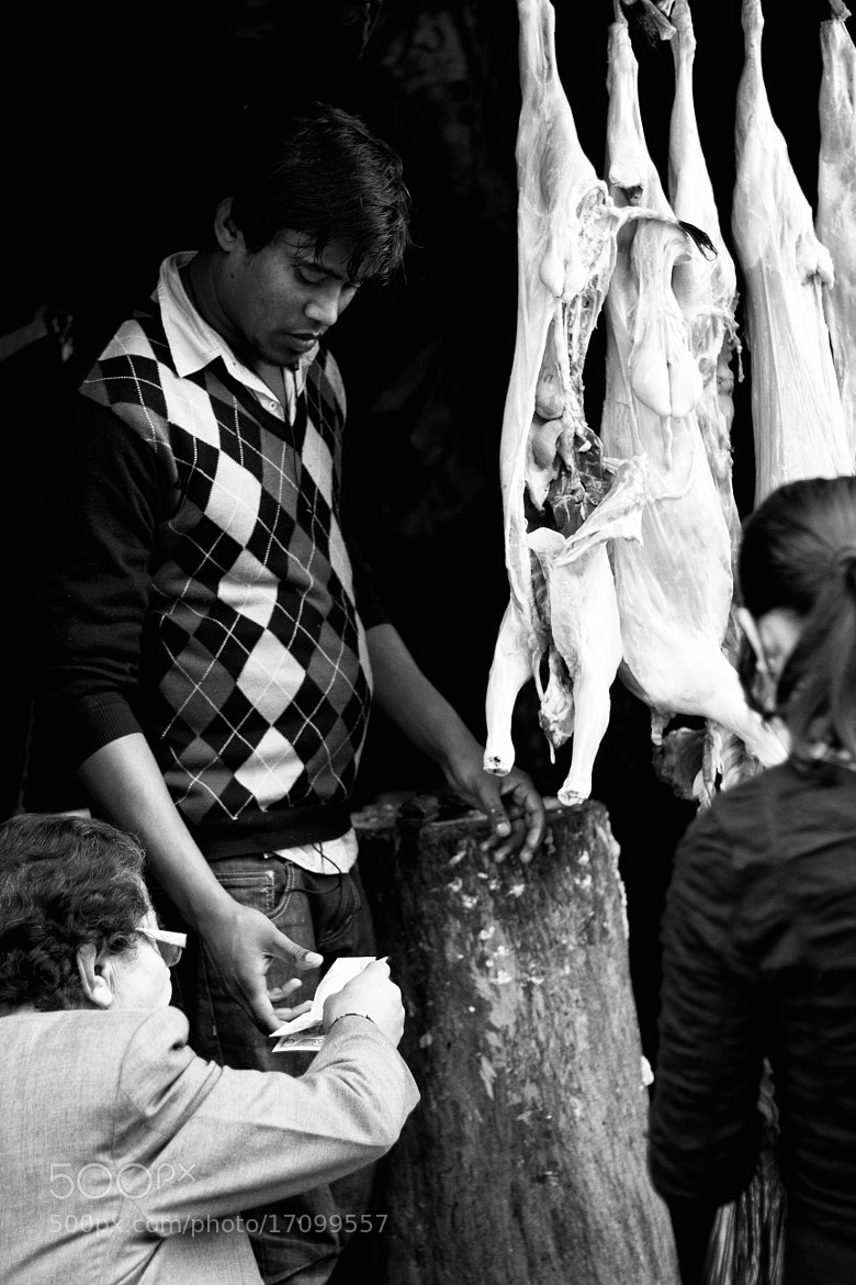 Photograph Mutton Stall by Dipayan Bhattacharjee on 500px