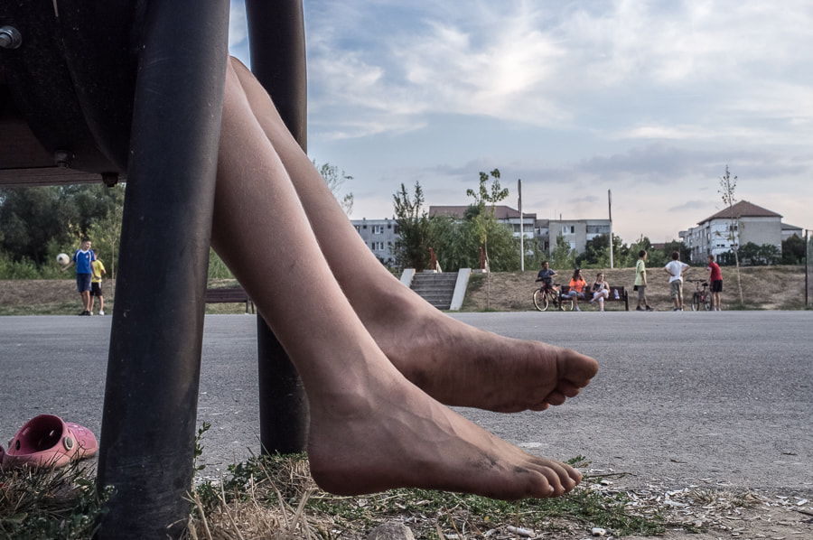 Photograph Out of play and dirty feet by Tiberiu Ichim on 500px