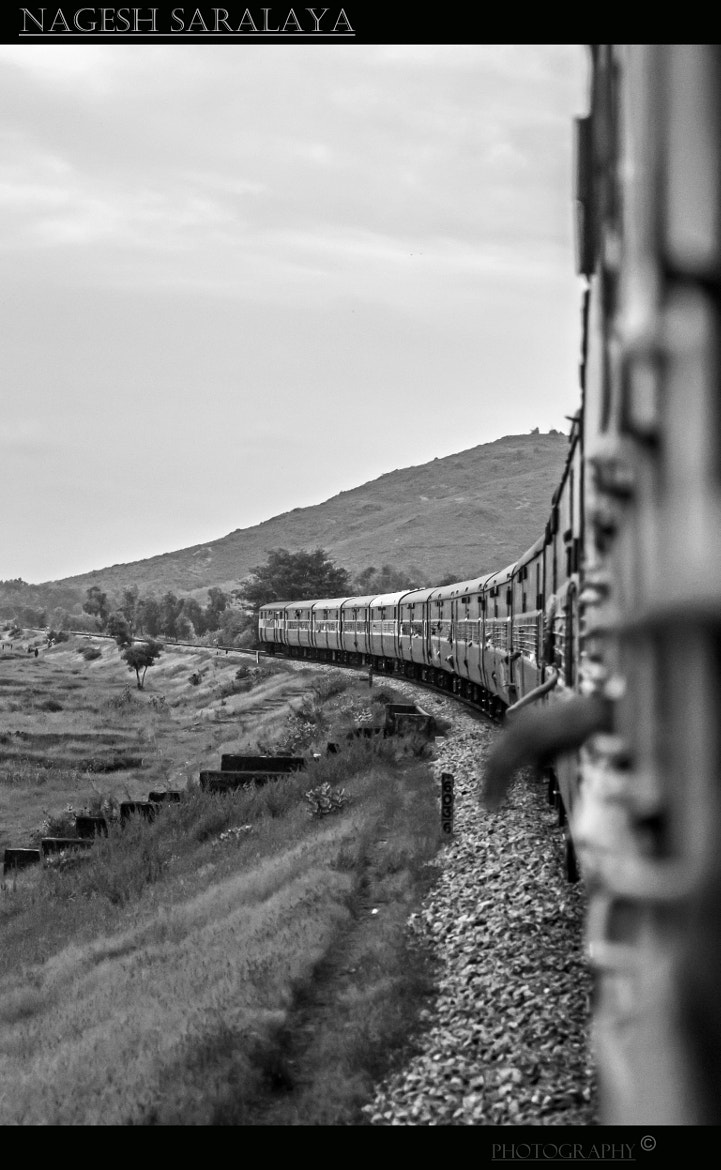 Photograph life in a train by Nagesh Saralaya on 500px
