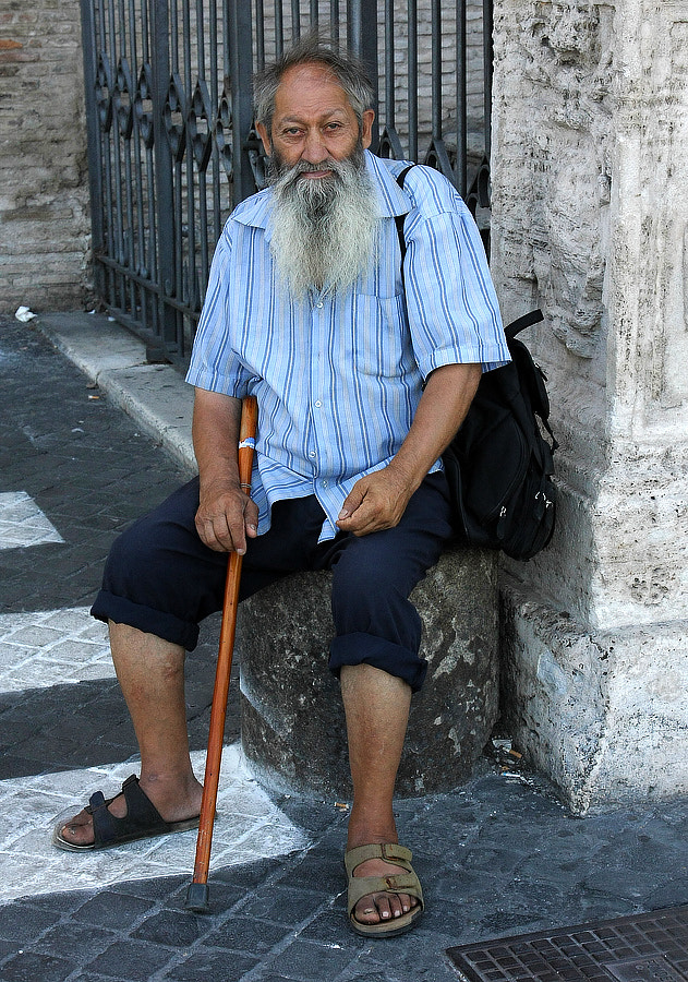Photograph Old beggar by Lorenzo Gizzi on 500px