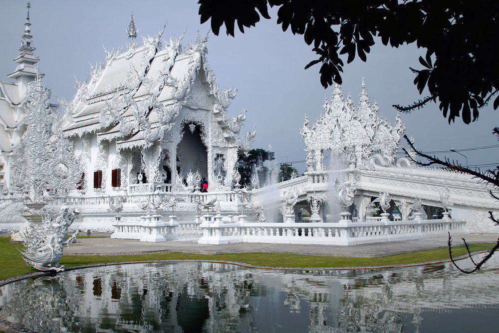 Photograph Wat Rong Khun by Pilikan Ch on 500px
