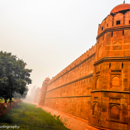 Red Fort, Nikon COOLPIX S6100