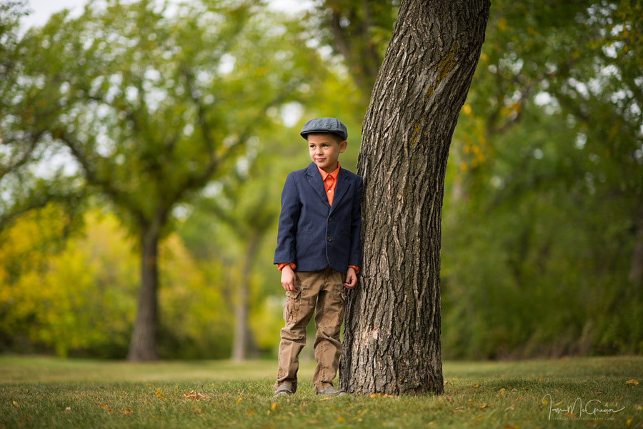 Boy In Park by Ian McGregor on 500px.com