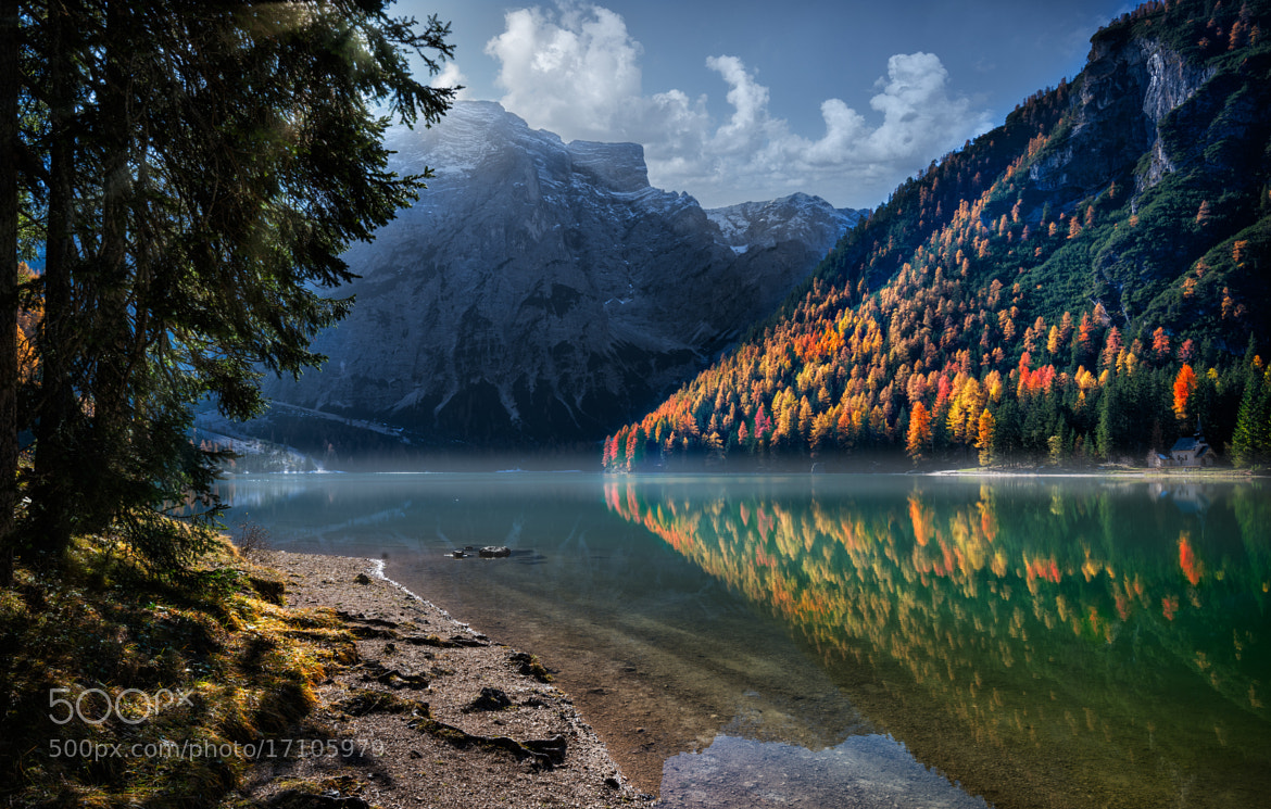 Photograph Braies Lake by Marco Carmassi on 500px