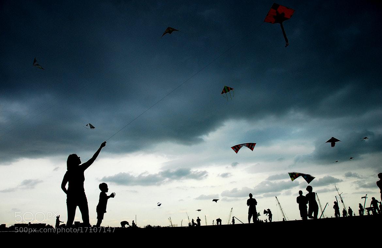 Photograph Go Kite by whopaintdsky  on 500px