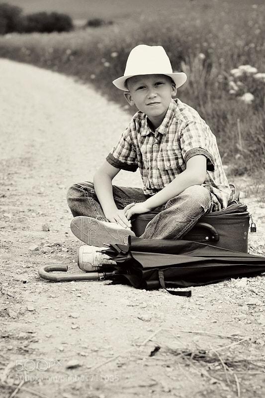 Photograph America boy by Katarina Grajcarikova on 500px