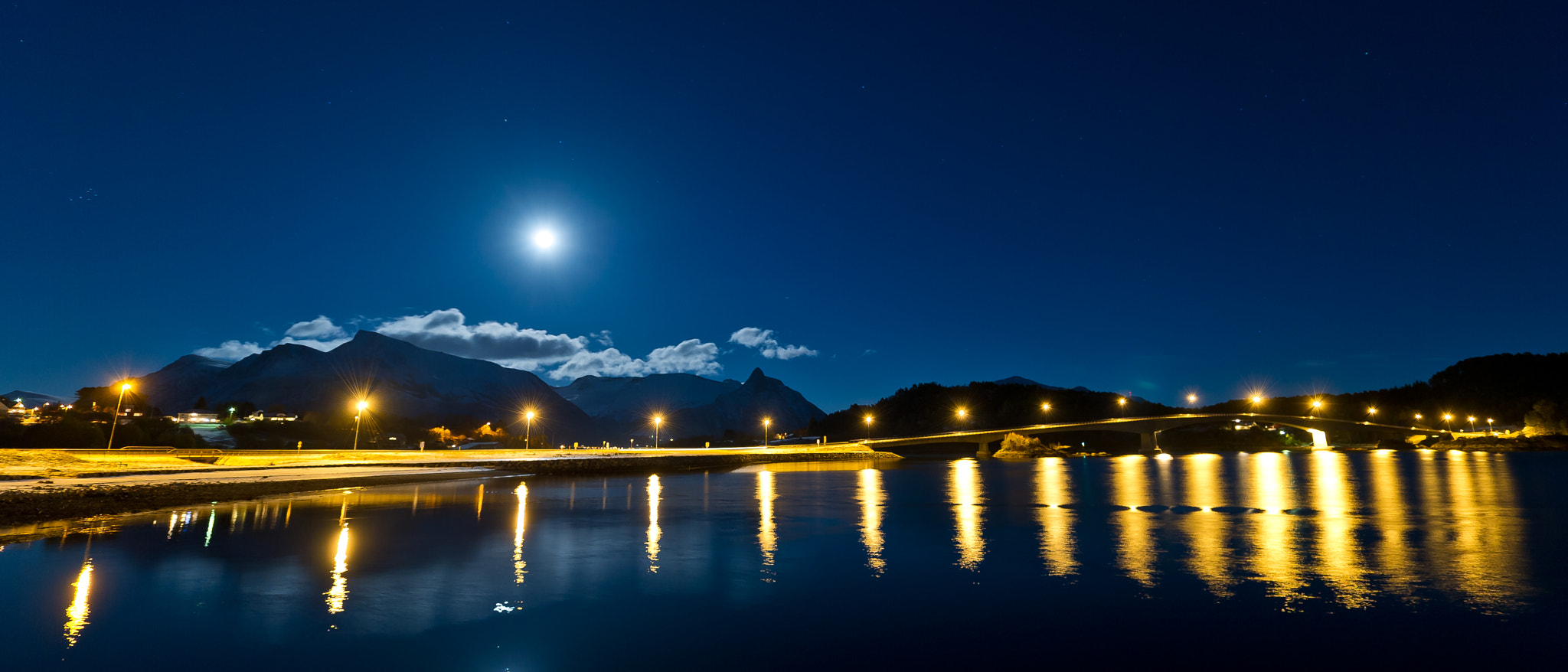 Photograph Moon night. by Geir Magne  Sætre on 500px