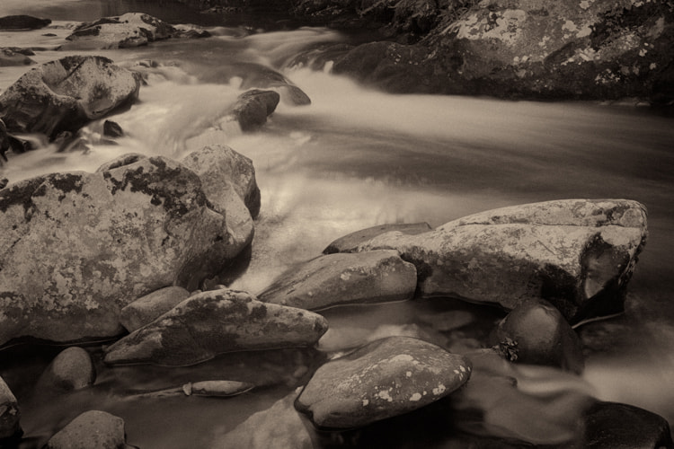 Photograph Tremont Creek by Jim Cole on 500px