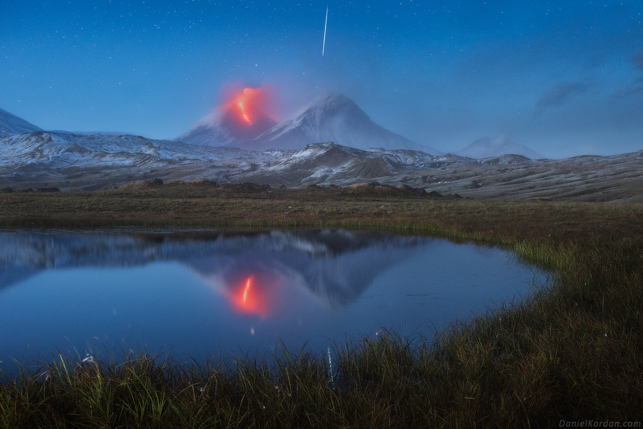 Klyuchevskaya eruption by Daniel Kordan on 500px.com