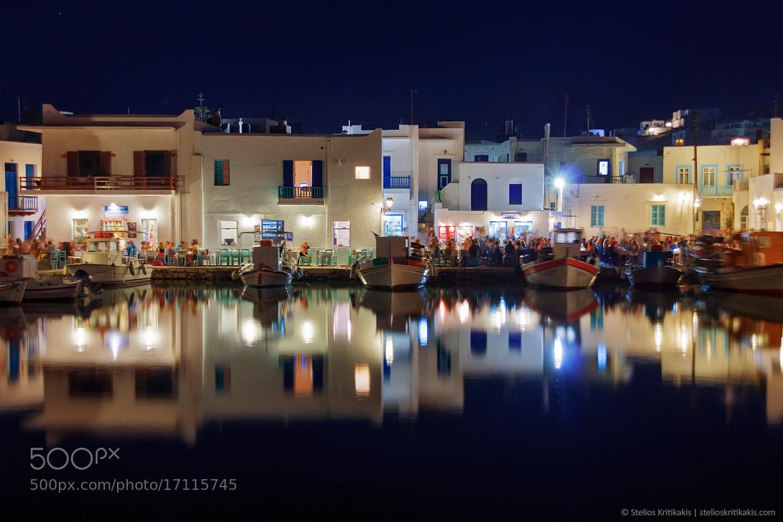 Photograph Naousa / Paros by Stelios  Kritikakis on 500px