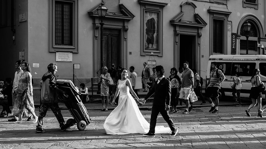 I Brake for Weddings by Nancy Lundebjerg on 500px.com